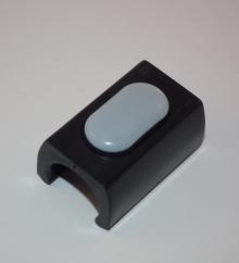 PTFE-Klemmschalengleiter, RohrØ 20-22mm, schwarz